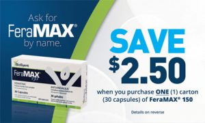 feramax coupon