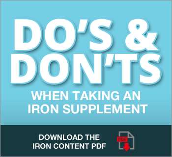 taking iron supplements