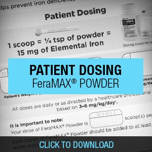FeraMAX® Powder Dosing Guide