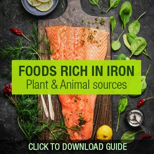 Foods rich in iron FeraMAX®